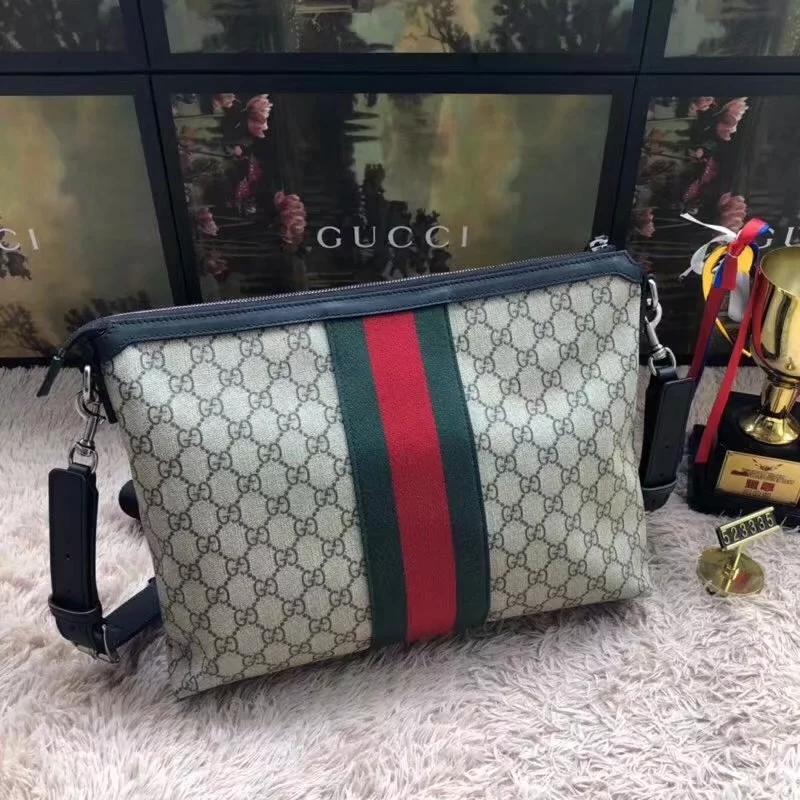 Discount Gucci Gg Supreme Medium Men Messenger Bag