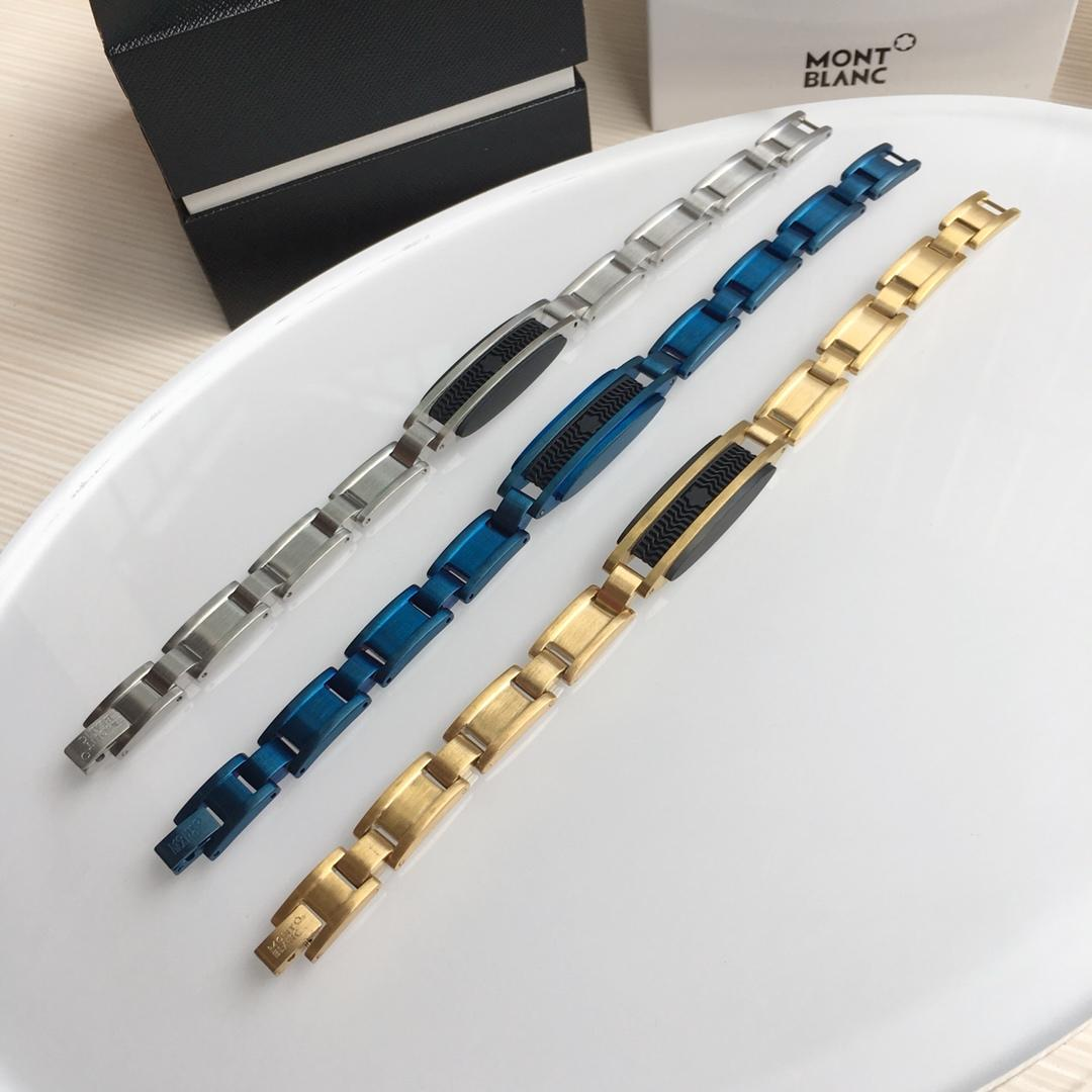 Replica Montblanc Men Steel Bracelet 003